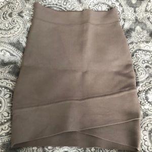 Bcbg bandaged mini skirt xxs